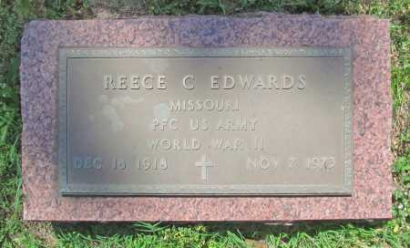 EDWARDS (VETERAN WWII), REECE C - Benton County, Arkansas | REECE C EDWARDS (VETERAN WWII) - Arkansas Gravestone Photos