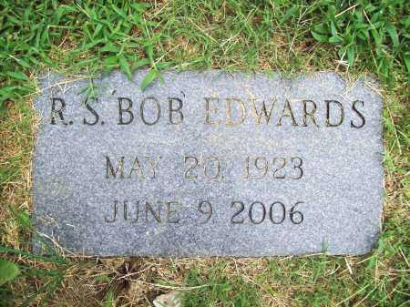 EDWARDS, R. S. 'BOB' - Benton County, Arkansas | R. S. 'BOB' EDWARDS - Arkansas Gravestone Photos