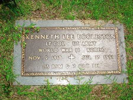 EGGLESTON (VETERAN 2 WARS), KENNETH LEE - Benton County, Arkansas | KENNETH LEE EGGLESTON (VETERAN 2 WARS) - Arkansas Gravestone Photos