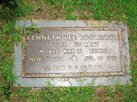 EGGLESTON (VETERAN 2 WARS), KENNETH LEE - Benton County, Arkansas | KENNETH LEE EGGLESTON (VETERAN 2 WARS) - Arkansas Gravestone Photos