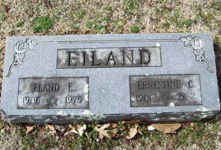 EILAND, ERNESTINE C. - Benton County, Arkansas | ERNESTINE C. EILAND - Arkansas Gravestone Photos