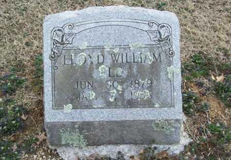 ELD, LLOYD WILLIAM - Benton County, Arkansas | LLOYD WILLIAM ELD - Arkansas Gravestone Photos