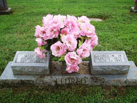 ELDRED, MARY M. - Benton County, Arkansas | MARY M. ELDRED - Arkansas Gravestone Photos