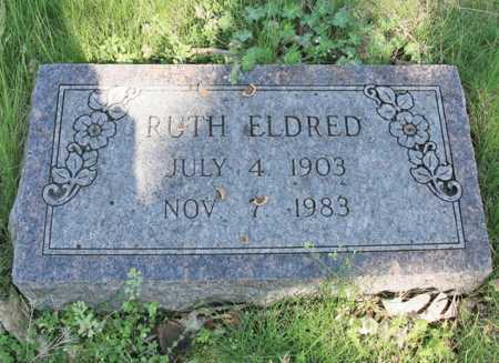 ELDRED, RUTH - Benton County, Arkansas | RUTH ELDRED - Arkansas Gravestone Photos