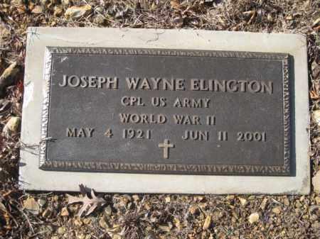 ELINGTON (VETERAN WWII), JOSEPH WAYNE - Benton County, Arkansas | JOSEPH WAYNE ELINGTON (VETERAN WWII) - Arkansas Gravestone Photos