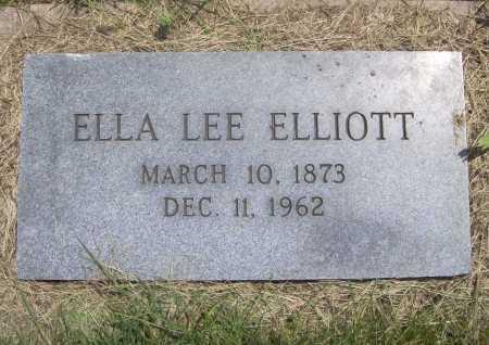 ELLIOTT, ELLA LEE - Benton County, Arkansas | ELLA LEE ELLIOTT - Arkansas Gravestone Photos