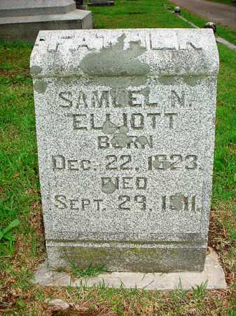 ELLIOTT, SAMUEL N. - Benton County, Arkansas | SAMUEL N. ELLIOTT - Arkansas Gravestone Photos
