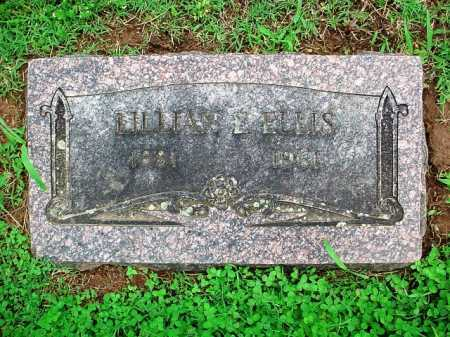 ELLIS, LILLIAN E. - Benton County, Arkansas | LILLIAN E. ELLIS - Arkansas Gravestone Photos