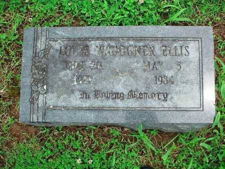 ELLIS, LOUIS WAGGONER - Benton County, Arkansas | LOUIS WAGGONER ELLIS - Arkansas Gravestone Photos