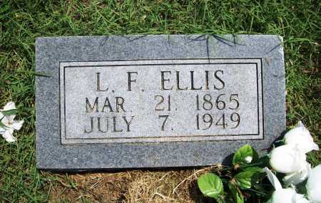 ELLIS, L F - Benton County, Arkansas | L F ELLIS - Arkansas Gravestone Photos