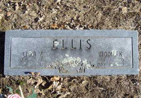 ELLIS, LIDA Z. - Benton County, Arkansas | LIDA Z. ELLIS - Arkansas Gravestone Photos