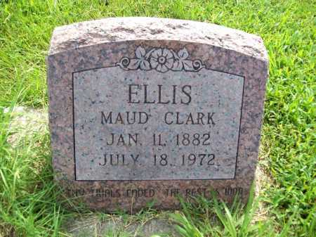CLARK ELLIS, MAUD - Benton County, Arkansas | MAUD CLARK ELLIS - Arkansas Gravestone Photos