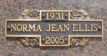 ELLIS, NORMA JEAN - Benton County, Arkansas | NORMA JEAN ELLIS - Arkansas Gravestone Photos