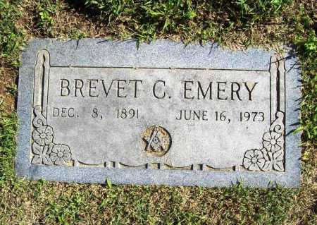 EMERY, BREVET C. - Benton County, Arkansas | BREVET C. EMERY - Arkansas Gravestone Photos