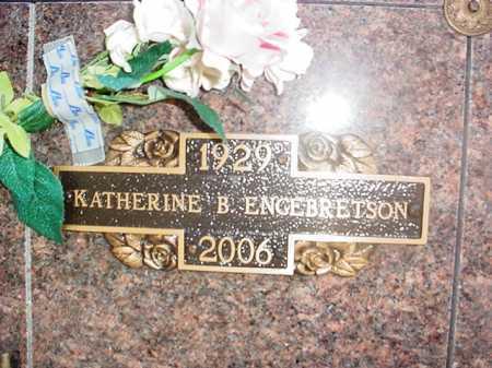 CLARK ENGEBRETSON, KATHERINE B. - Benton County, Arkansas | KATHERINE B. CLARK ENGEBRETSON - Arkansas Gravestone Photos