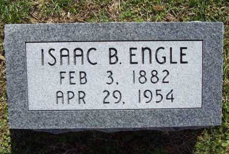 ENGLE, ISAAC B. - Benton County, Arkansas | ISAAC B. ENGLE - Arkansas Gravestone Photos