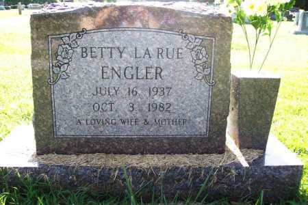 ENGLER, BETTY LA RUE - Benton County, Arkansas | BETTY LA RUE ENGLER - Arkansas Gravestone Photos