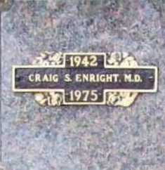 ENRIGHT, CRAIG S. M.D. - Benton County, Arkansas | CRAIG S. M.D. ENRIGHT - Arkansas Gravestone Photos