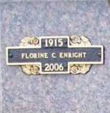 "ENRIGHT, FLORINE C. ""FLO"" - Benton County, Arkansas 