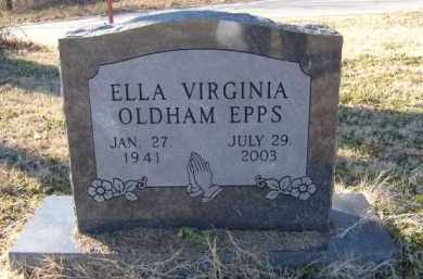 OLDHAM EPPS, ELLA VIRGINIA - Benton County, Arkansas | ELLA VIRGINIA OLDHAM EPPS - Arkansas Gravestone Photos