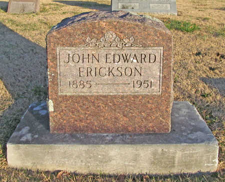 ERICKSON, JOHN EDWARD - Benton County, Arkansas | JOHN EDWARD ERICKSON - Arkansas Gravestone Photos