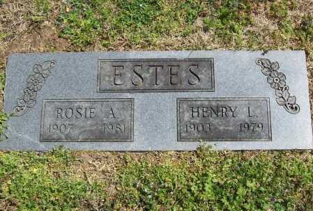 ESTES, ROSIE A. - Benton County, Arkansas | ROSIE A. ESTES - Arkansas Gravestone Photos