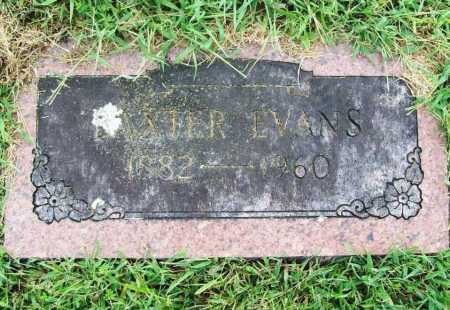 EVANS, BAXTER - Benton County, Arkansas | BAXTER EVANS - Arkansas Gravestone Photos