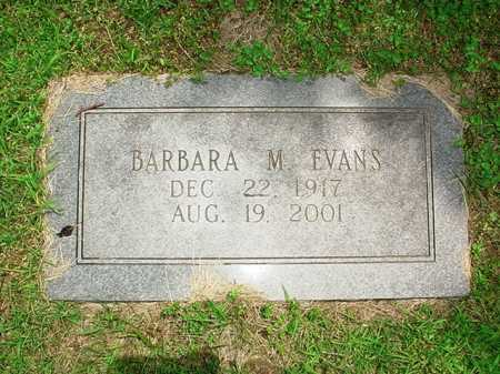 EVANS, BARBARA M. - Benton County, Arkansas | BARBARA M. EVANS - Arkansas Gravestone Photos