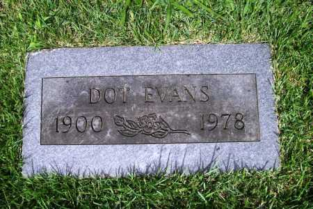 EVANS, DOT - Benton County, Arkansas | DOT EVANS - Arkansas Gravestone Photos