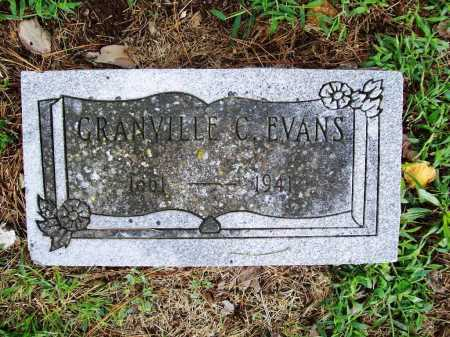 EVANS, GRANVILLE C. - Benton County, Arkansas | GRANVILLE C. EVANS - Arkansas Gravestone Photos