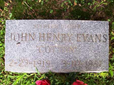 EVANS, JOHN HENRY - Benton County, Arkansas | JOHN HENRY EVANS - Arkansas Gravestone Photos