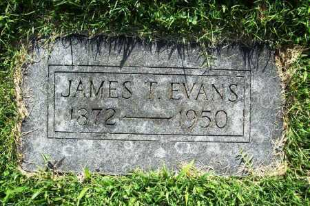EVANS, JAMES T. - Benton County, Arkansas | JAMES T. EVANS - Arkansas Gravestone Photos