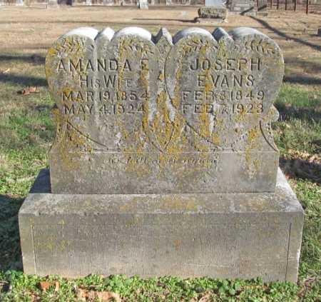 EVANS, AMANDA - Benton County, Arkansas | AMANDA EVANS - Arkansas Gravestone Photos