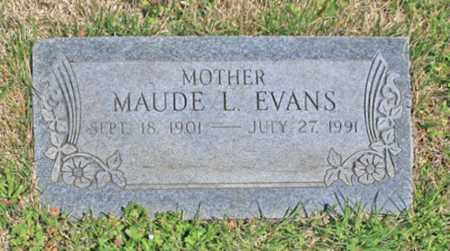 EVANS, MAUDE L. - Benton County, Arkansas | MAUDE L. EVANS - Arkansas Gravestone Photos