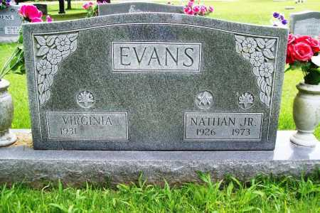 EVANS, NATHAN JR. - Benton County, Arkansas | NATHAN JR. EVANS - Arkansas Gravestone Photos