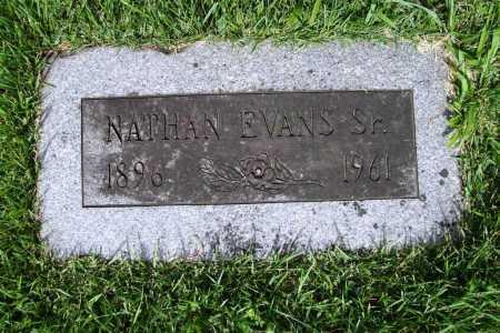 EVANS, NATHAN SR. - Benton County, Arkansas | NATHAN SR. EVANS - Arkansas Gravestone Photos