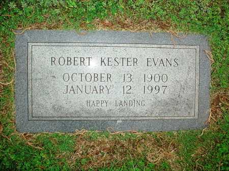 EVANS, ROBERT KESTER - Benton County, Arkansas | ROBERT KESTER EVANS - Arkansas Gravestone Photos