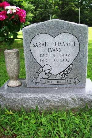 EVANS, SARAH ELIZABETH - Benton County, Arkansas | SARAH ELIZABETH EVANS - Arkansas Gravestone Photos