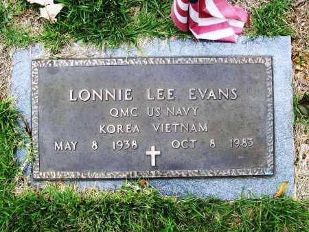 EVANS (VETERAN 2 WARS), LONNIE LEE - Benton County, Arkansas | LONNIE LEE EVANS (VETERAN 2 WARS) - Arkansas Gravestone Photos