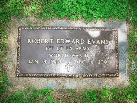 EVANS (VETERAN WWII), ROBERT EDWARD - Benton County, Arkansas | ROBERT EDWARD EVANS (VETERAN WWII) - Arkansas Gravestone Photos