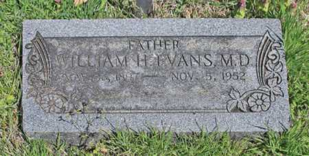 EVANS, WILLIAM H., M. D. - Benton County, Arkansas | WILLIAM H., M. D. EVANS - Arkansas Gravestone Photos