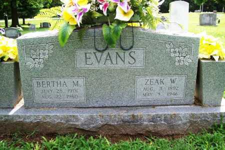 EVANS, BERTHA M. - Benton County, Arkansas | BERTHA M. EVANS - Arkansas Gravestone Photos