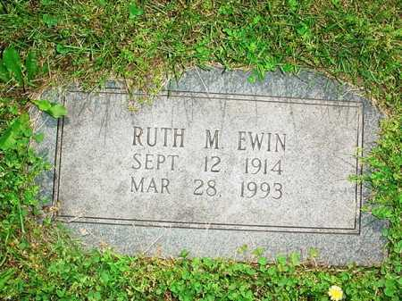 EWIN, RUTH M. - Benton County, Arkansas | RUTH M. EWIN - Arkansas Gravestone Photos