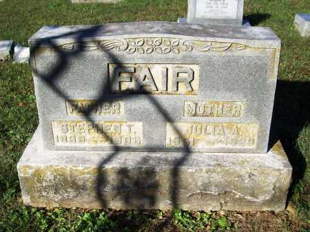 FAIR, AGNES JULIA ANN - Benton County, Arkansas | AGNES JULIA ANN FAIR - Arkansas Gravestone Photos
