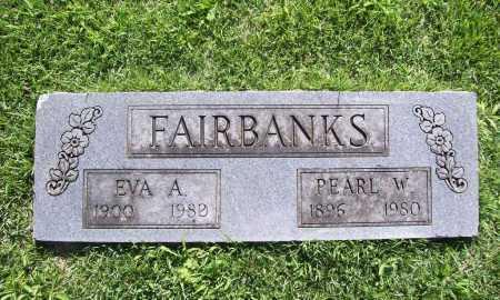 FAIRBANKS, EVA A. - Benton County, Arkansas | EVA A. FAIRBANKS - Arkansas Gravestone Photos