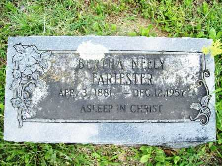 FARIESTER, BERTHA - Benton County, Arkansas | BERTHA FARIESTER - Arkansas Gravestone Photos