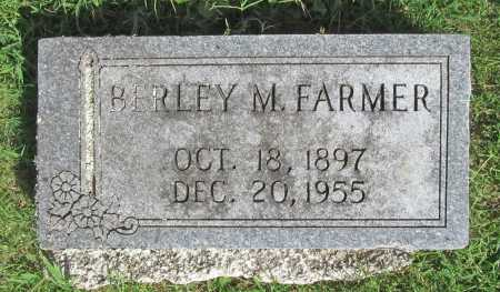 FARMER, BERLEY M - Benton County, Arkansas | BERLEY M FARMER - Arkansas Gravestone Photos