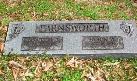 FARNSWORTH, BYRON W. - Benton County, Arkansas | BYRON W. FARNSWORTH - Arkansas Gravestone Photos