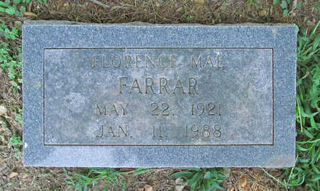 FARRAR, FLORENCE MAY - Benton County, Arkansas | FLORENCE MAY FARRAR - Arkansas Gravestone Photos