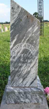 FARRAR, J. H. - Benton County, Arkansas | J. H. FARRAR - Arkansas Gravestone Photos